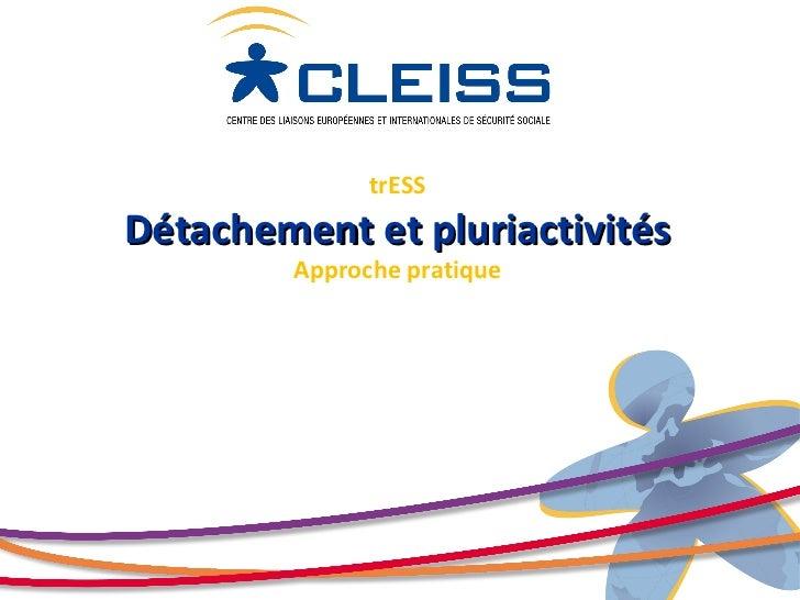 2011 - Détachement et pluriactivités - Approche pratique