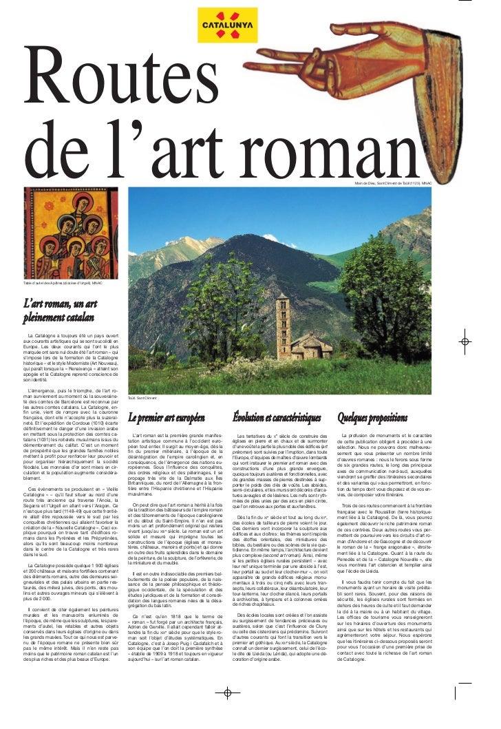 Routesde l'art roman                                                                                                      ...