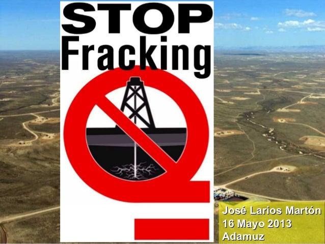 Fracking en Andalucía