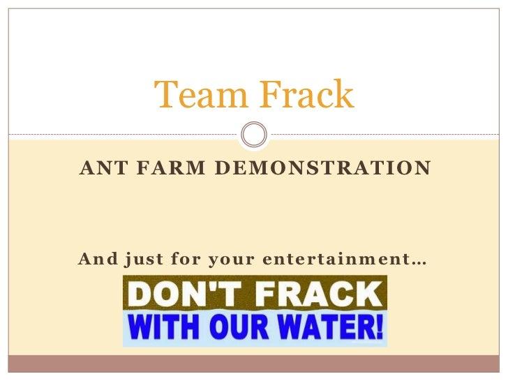 Frack presentation