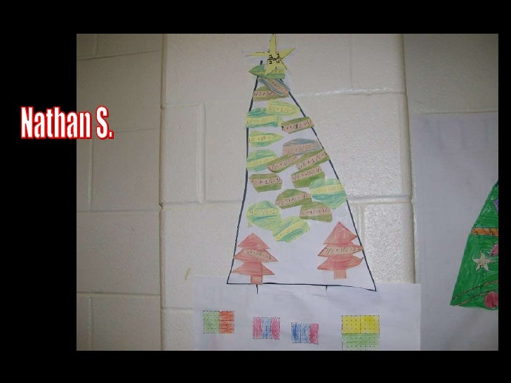 Fraction Christmas Trees 2009