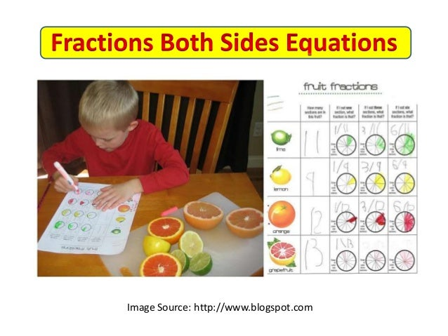 Equations with Fractions on Both Sides