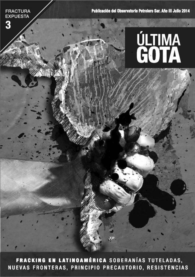 """Ultima Gota """"FRACTURA EXPUESTA """""""