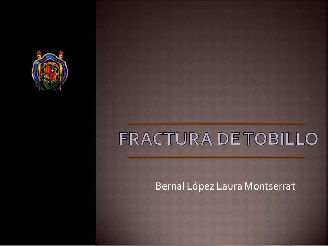 Bernal López Laura Montserrat