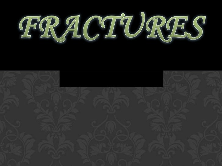 DEFINITIONFracture is a structural break in the normalcontinuity of the bone