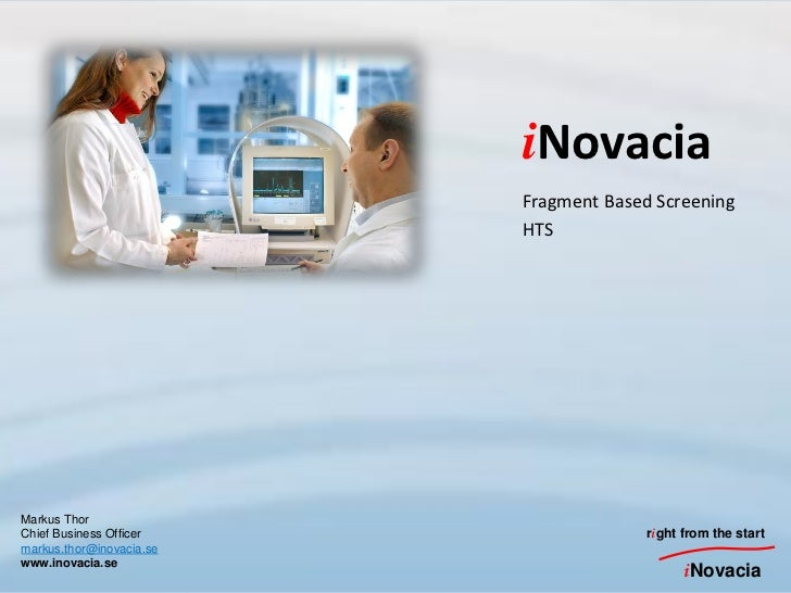 Fragment based screening at inovacia
