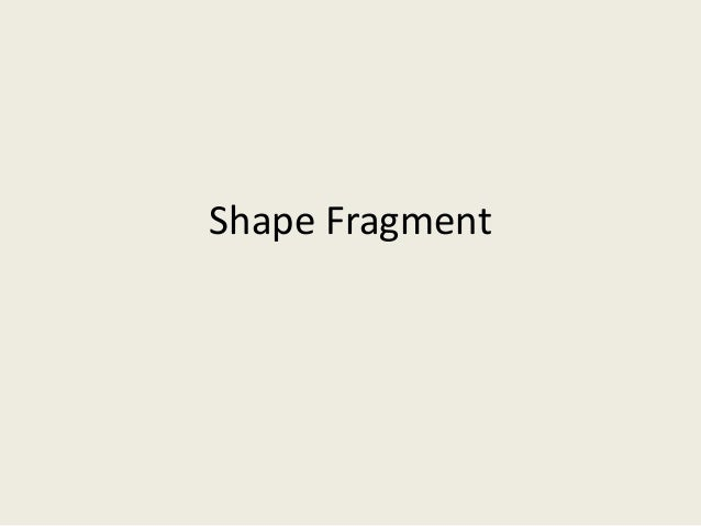 Shape Fragment Command in PowerPoint
