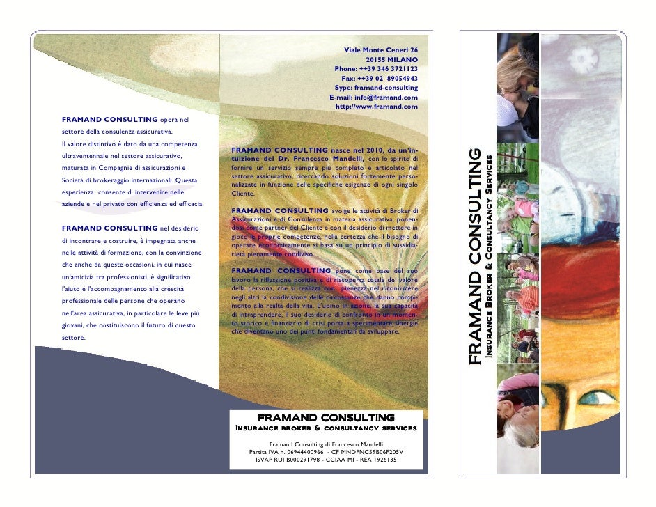 Framand Consulting - brochure formazione