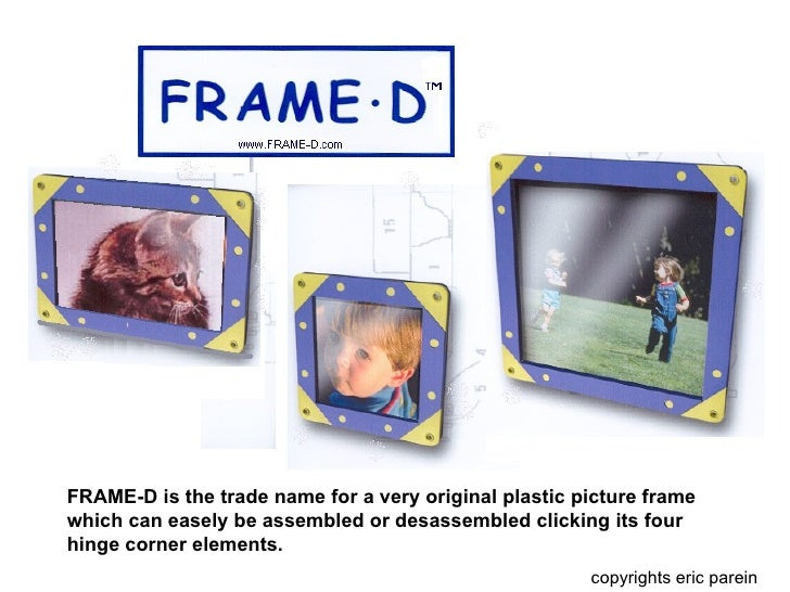 Modular Picture Frames