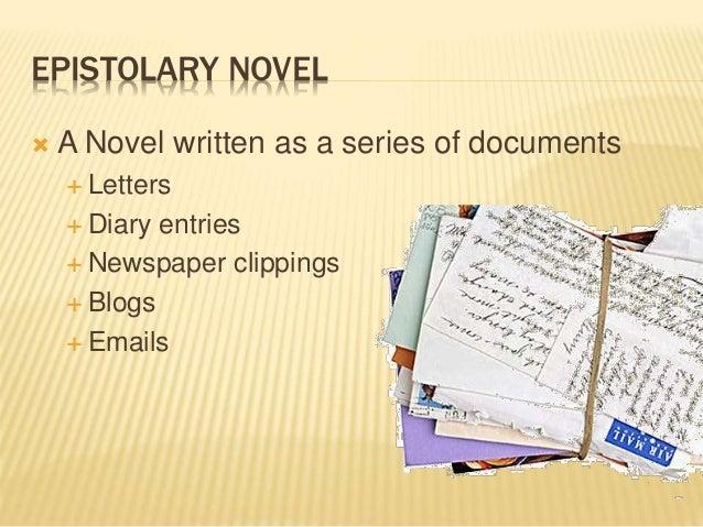 the epistolary form essay