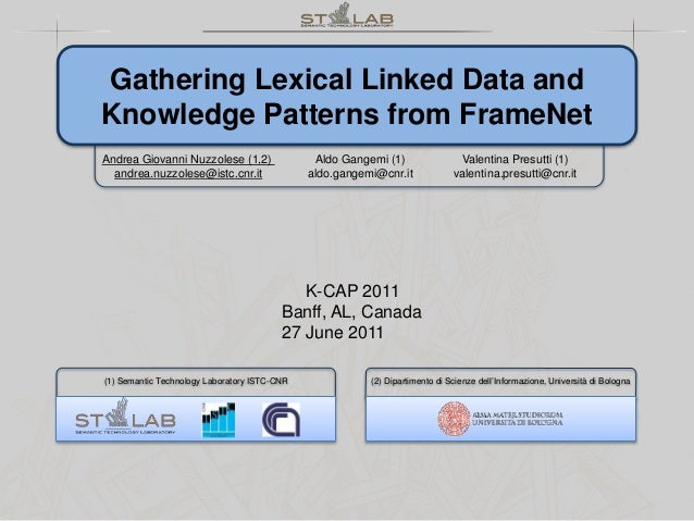Gathering Lexical Linked Data and Knowledge Patterns from FrameNet