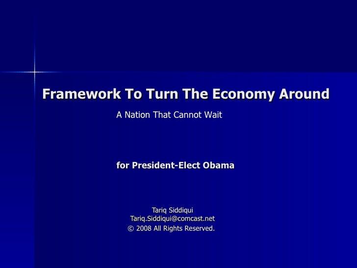 Framework For Turnaround