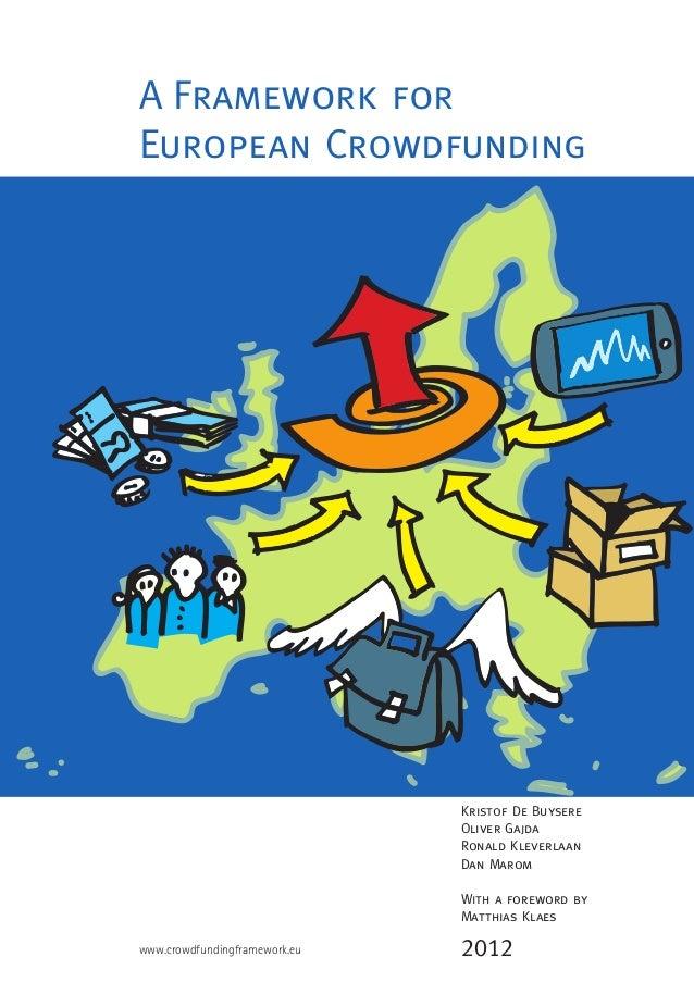 A Framework for EU Crowdfunding