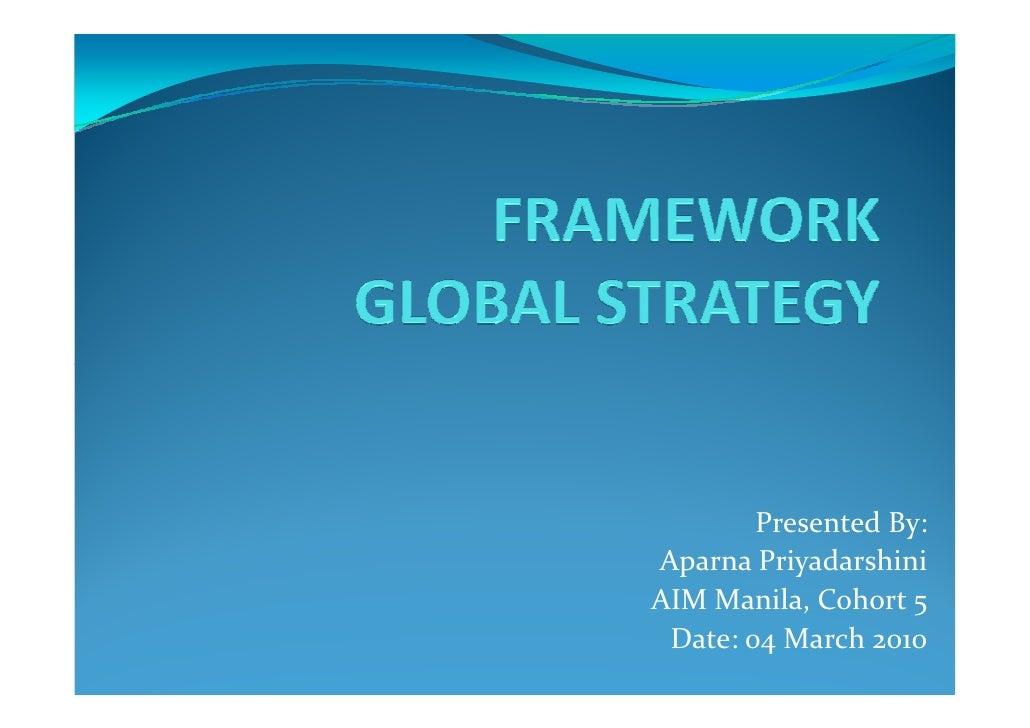Presented By: Aparna Priyadarshini AIM Manila, Cohort 5  Date: 04 March 2010