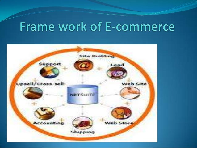 Frame work of E-commerce   Infrastructure  Common business services infrastructureMessaging and information distribution ...