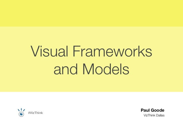 Visual Frameworks and Models