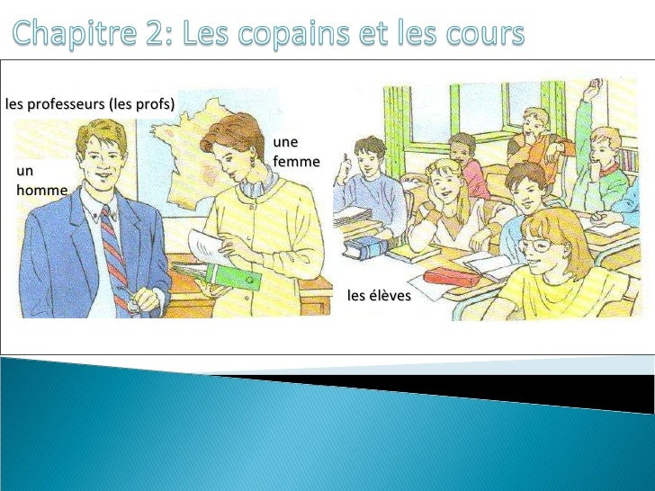 Chapitre 2<br />People vocabulary, classroomobjects, & schoolsubjects<br />