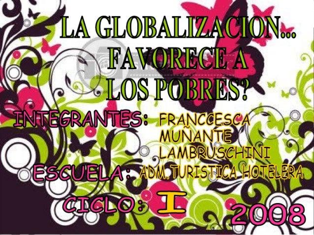 Franccesca MuñAnte Globalizacion 2