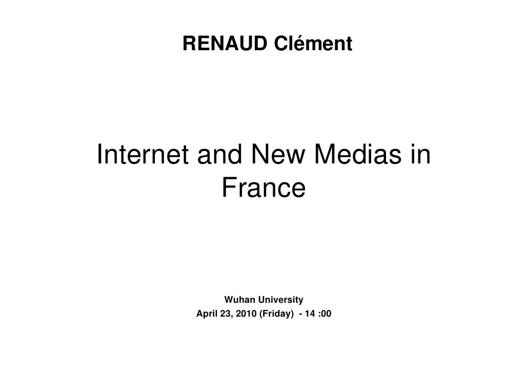 Internet and new media in France