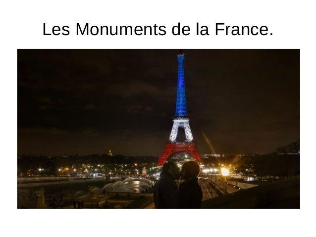 Les Monuments de la France.