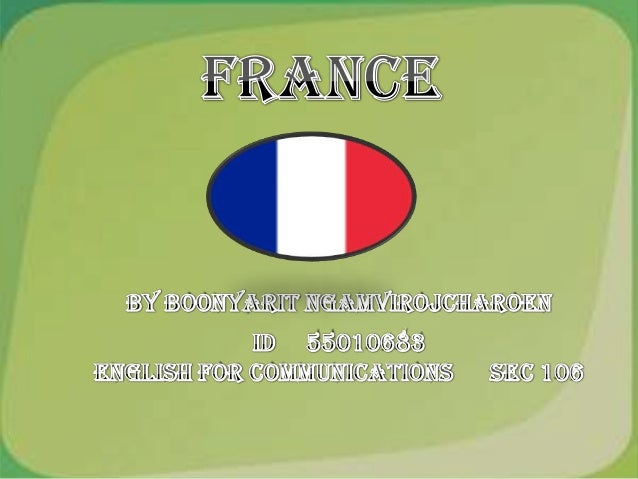 -General of France -Food -interesting place