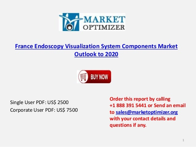 France Endoscopy Visualization System Components Market Outlook to 2020 Single User PDF: US$ 2500 Corporate User PDF: US$ ...