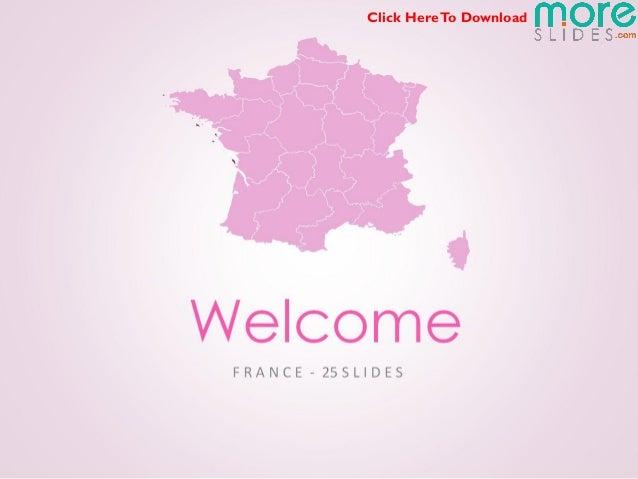 France Map | Moreslides.com