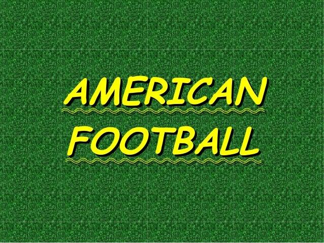 American Football (Matteo & Franceschiello)