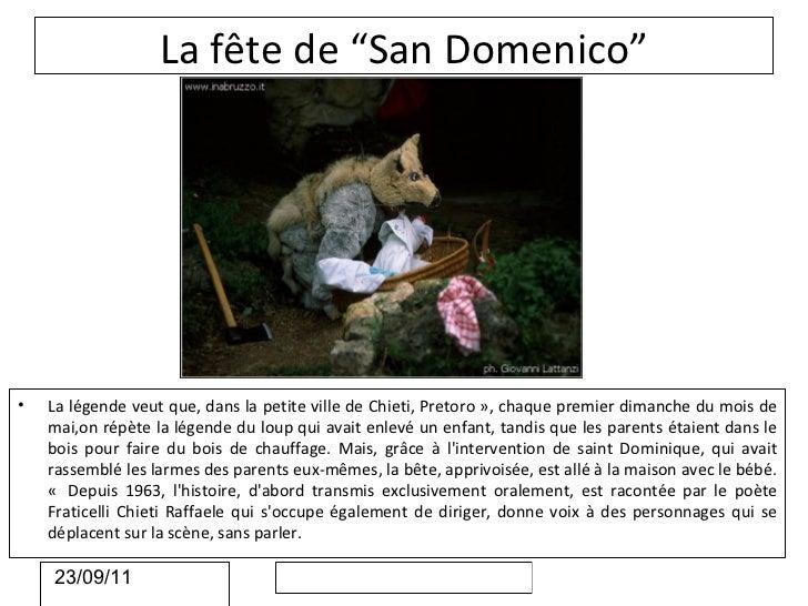 """La fête de """"San Domenico""""•   La légende veut que, dans la petite ville de Chieti, Pretoro », chaque premier dimanche du mo..."""