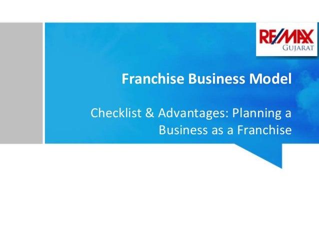 Franchising Business Plan