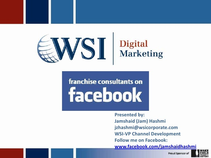 Franchise consultants on facebook