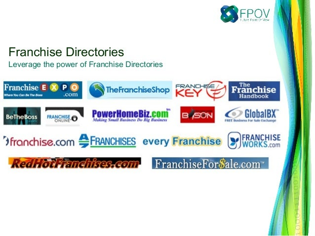 Franchise Directories Leverage the power of Franchise Directories