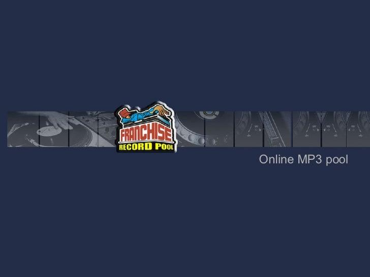 Online MP3 pool