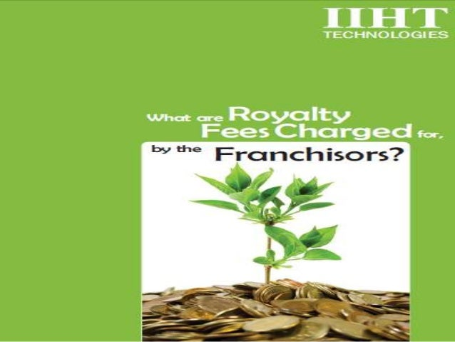 By definition, Royalty fees are ongoing fees charged by the franchisor for the goodwill, ongoing services and administrati...