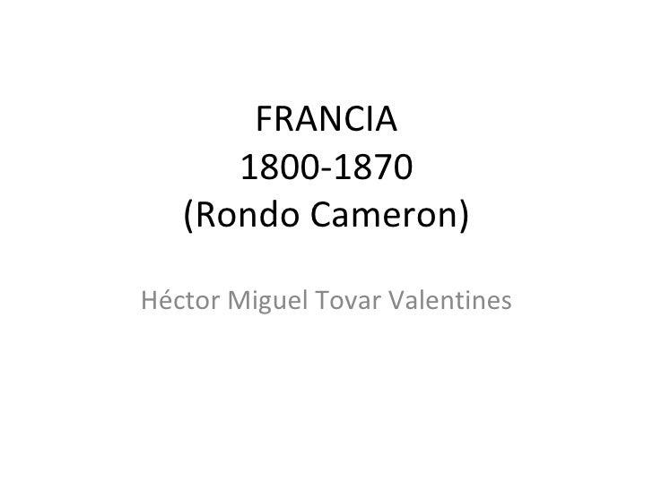 Francia. Exposición Héctor Tovar