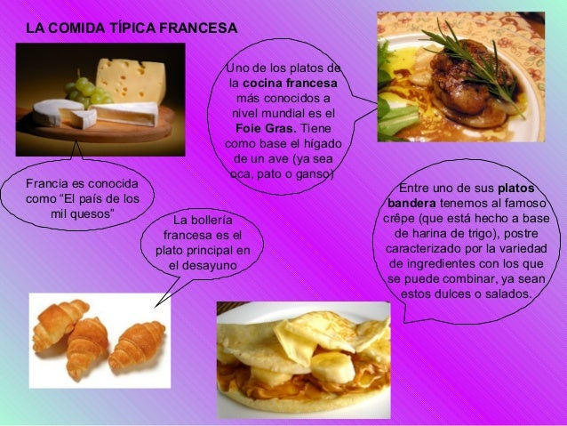 Francia for Paris francia comida tipica