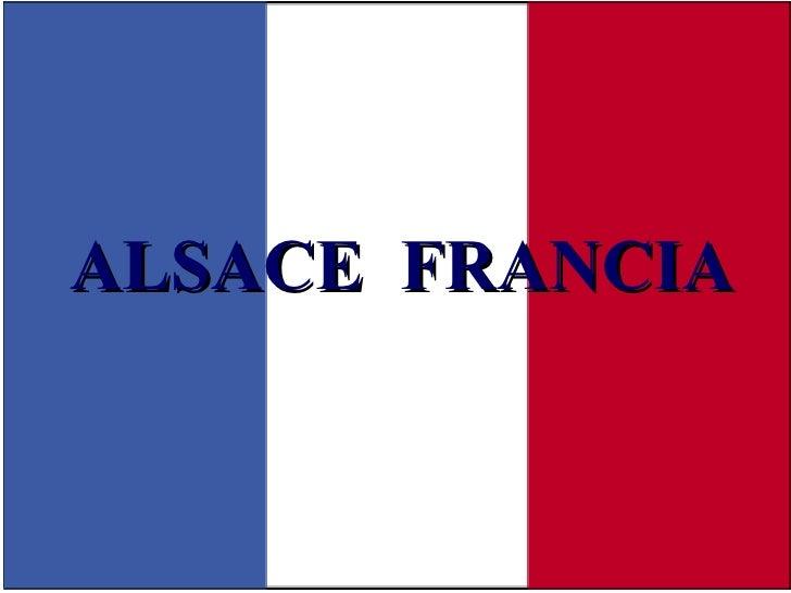ALSACE  FRANCIA