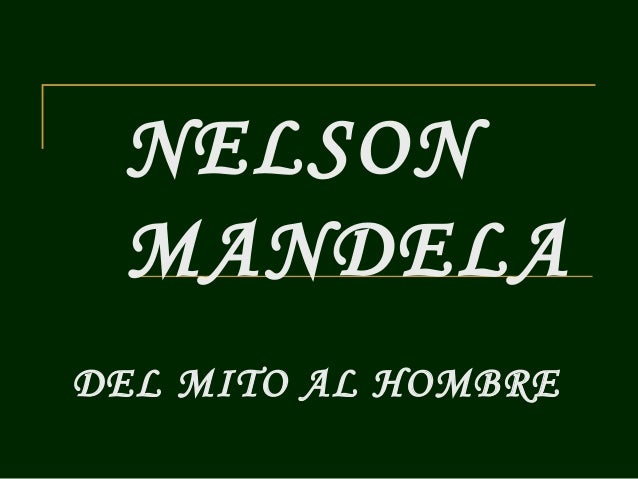 Nelson Mandela by Francis