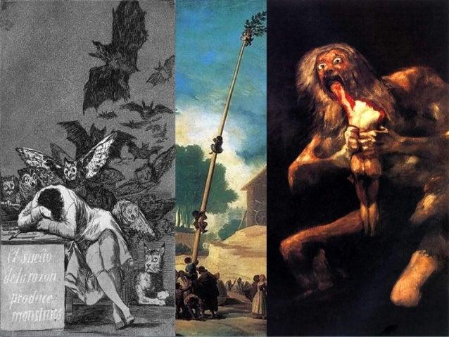 GOYA S. XVIII-XIXGOYA S. XVIII-XIX  Es un pintor genial imposible deEs un pintor genial imposible de clasificar que vivió...