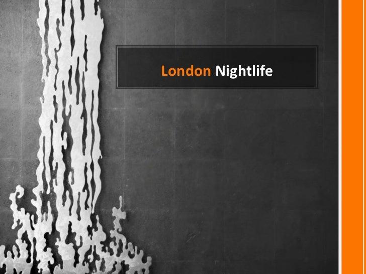LONDON NIGHTLIFE-Francisco Javier- NI D