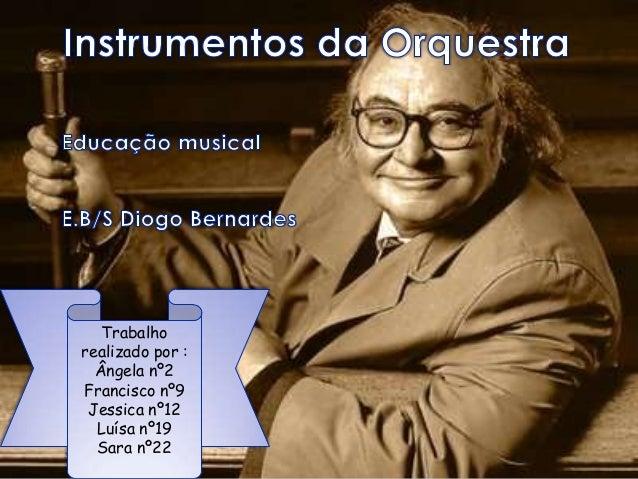 Instrumentos De Orquestra 5º Ano / Educação Musical