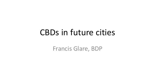 PlaceEXPO Future Cities: Francis Glare, BDP