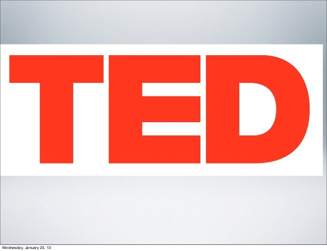 Francis stephens ted_evaluation
