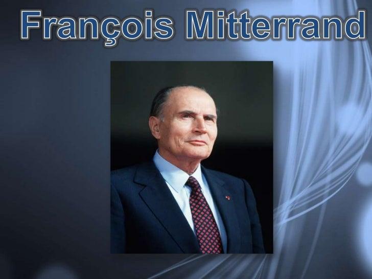 ₪ François Maurice Adrien Marie Miterrand – 26 octubre 1916₪ 1925- Collège Saint- Paul d'Angoulême₪ 1934- Facultés des let...