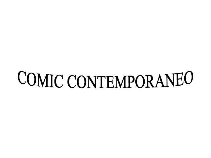 COMIC CONTEMPORANEO
