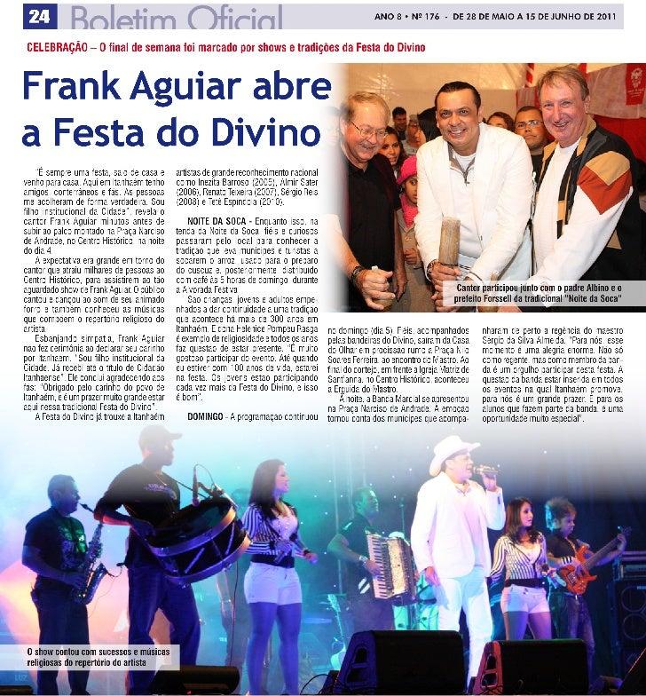 Frank Aguiar na Festa do Divino de Itanhaém