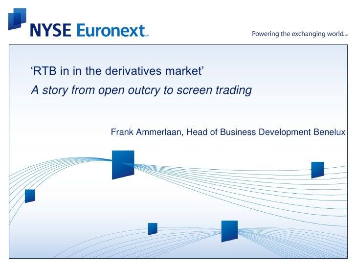 Frank Ammerlaan - RTB van aandelen en opties