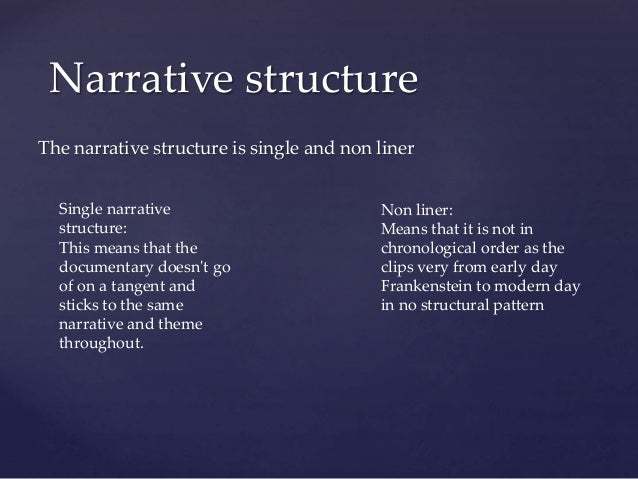 narrative structure of frankenstein Analysis of narrative structure of frankenstein 1818 version - book report/review example.