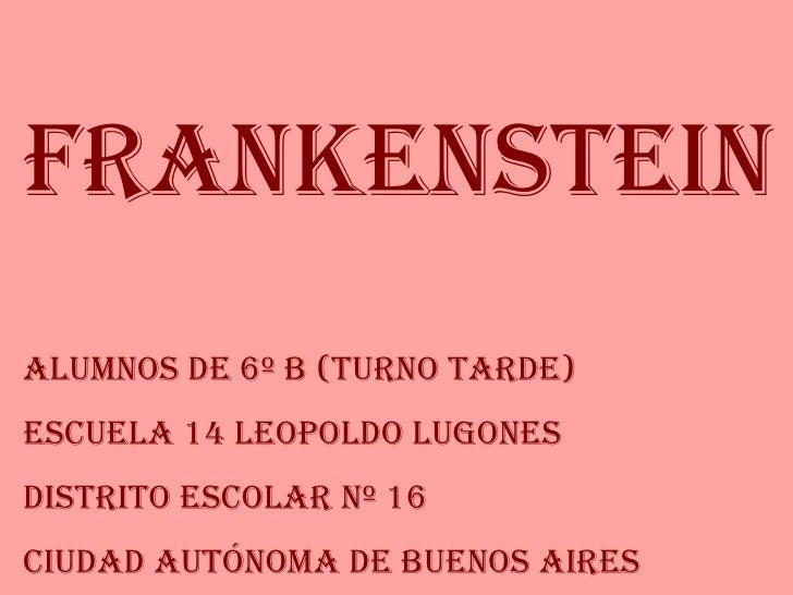 Frankenstein (6º B)