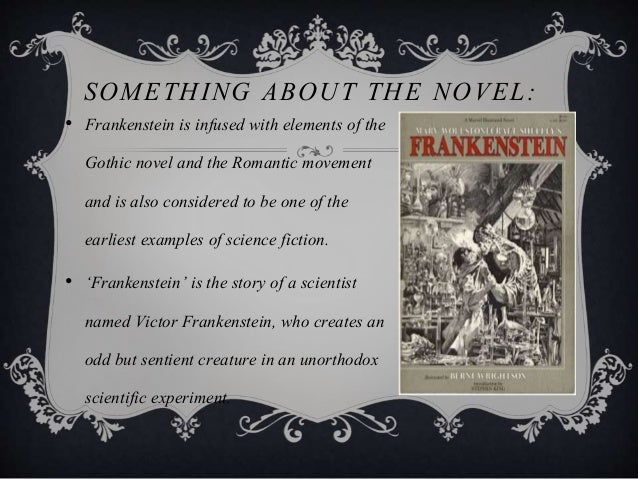 frankenstein as a gothic novel essay